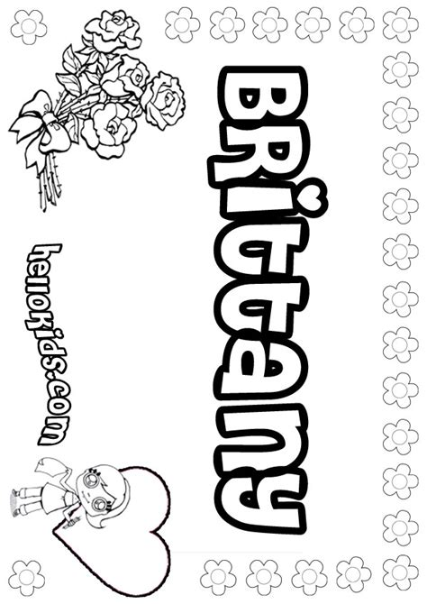 names coloring pages kidsuki