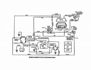 Lawn Tractor Wiring Diagram Tractors 12 Hp Briggs And