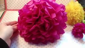 Blumen Aus Seidenpapier : blumen girlande aus seidenpapier youtube ~ Orissabook.com Haus und Dekorationen