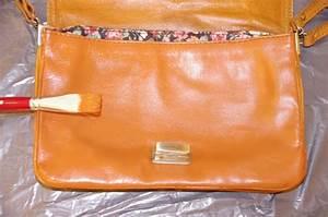 Teinture Pour Cuir Canapé : diy teindre un sac en cuir missglamazone ~ Premium-room.com Idées de Décoration