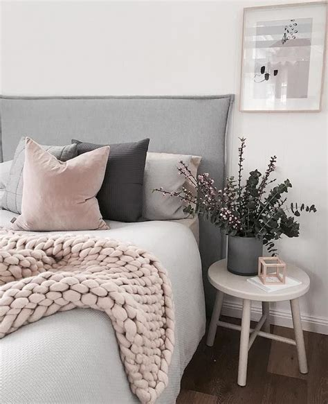 gray and pink bedroom ideas best 25 gray pink bedrooms ideas on pinterest 18815 | 5650ea9b3f49b7a714d103577bbaba0c cozy blankets instagram feed