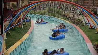 Hawai Malang Waterpark Waimea Stream River Gambar