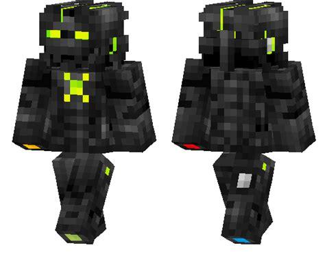 microsoft box iron man minecraft pe skins