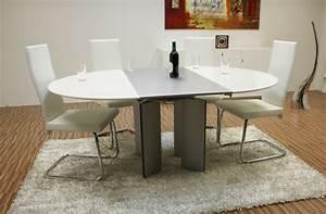 Esstisch Oval Glas : ronald schmitt esstisch mod g 750 e glas snow white ebay ~ Frokenaadalensverden.com Haus und Dekorationen