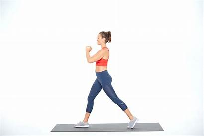 Lunge Lunges Split Legs Exercises Fitness Core