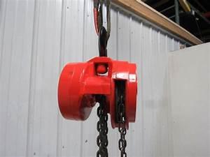 Cm Model S 2 Ton Manual Chain Fall Hoist 14 U0026 39  8 U0026quot  Lift W