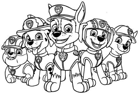 cositas entretenidas  faciles de hacer dibujos de paw patrol  colorear