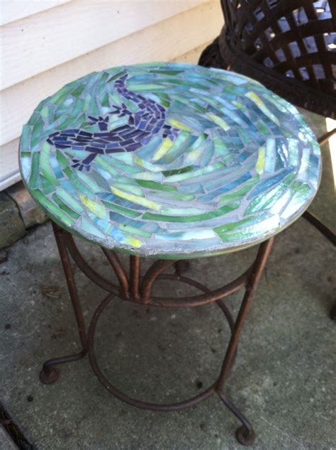17 best ideas about mosaic table tops on