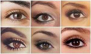 Maquillage Pour Yeux Marron : comment maquiller les yeux marron ~ Carolinahurricanesstore.com Idées de Décoration