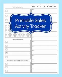 Sales Activity Tracker Daily Planner Cold Call Tracker Etsy