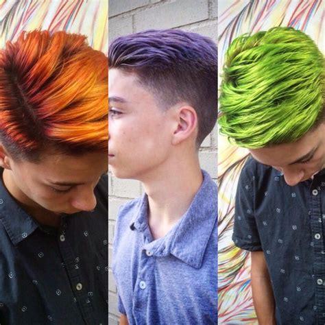 Mens Hair Dye by 1000 Ideas About Mens Hair Dye On Hair