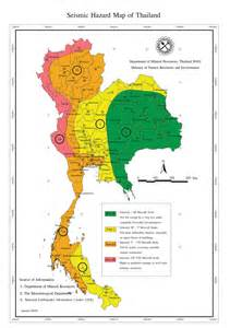 Seismic Map Thailand