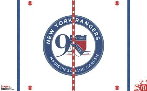york rangers  frozen faceoff