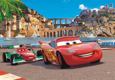 Car Wallpapers Cars Disney by Poster Wall Mural Wallpaper Disney Cars 2 Mcqueen