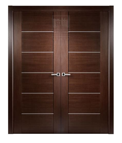 40 Inch Closet Door by 40 Quot X 80 Quot Maximum Wenge Brown Modern Interior Door