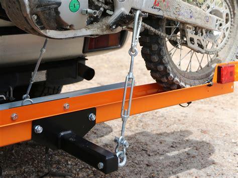 rack n roll rack n roll bike carrier australasian dirt bike magazine