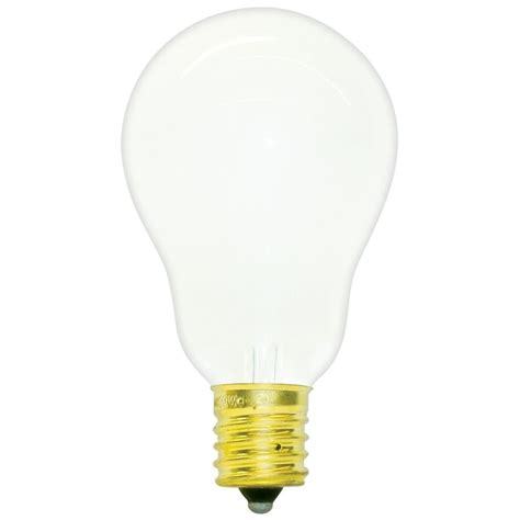 60a15 e17 fr130 a15 frosted appliance bulb
