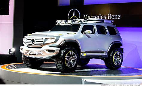 Big Boxy Mercedes Suv