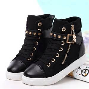 Black and Gold Adidas Shoes High Tops