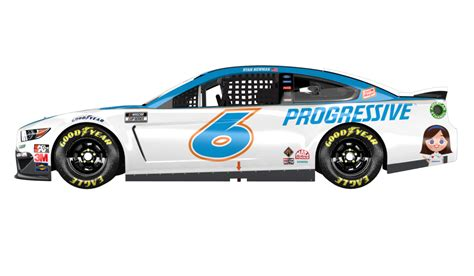 The progressive corporation is an american insurance company, one of the largest providers of car insurance in the united states. 2020 #6 Roush Fenway Racing paint schemes - Jayski's NASCAR Silly Season Site