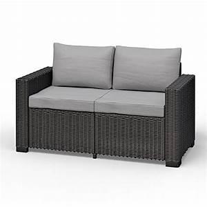 Rattan 2 Sitzer : grau lounge sets und weitere gartenm bel g nstig online kaufen bei m bel garten ~ Whattoseeinmadrid.com Haus und Dekorationen