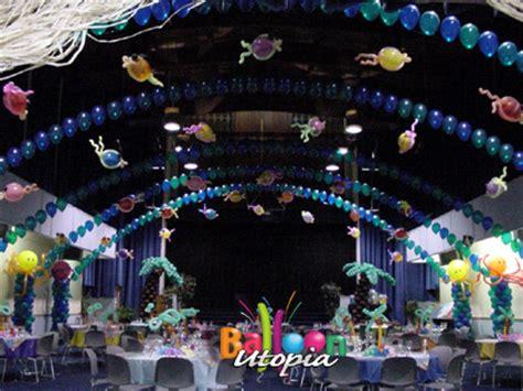 san diego   sea theme decor  balloon utopia