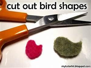 Little Singing Bird Tags Tutorial : Behind Mytutorlist.com