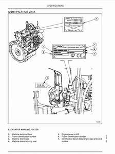Fiat Kobelco E16  E18 Evolution Excavators Workshop Manual Pdf