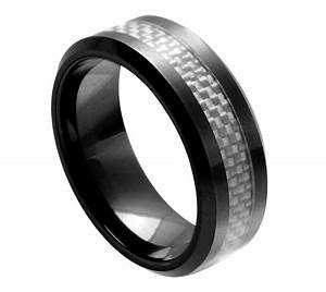 men39s ceramic wedding ring classic comfort fit band new With ceramic mens wedding rings