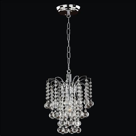mini beaded chandelier pendant light trevi 610 glow
