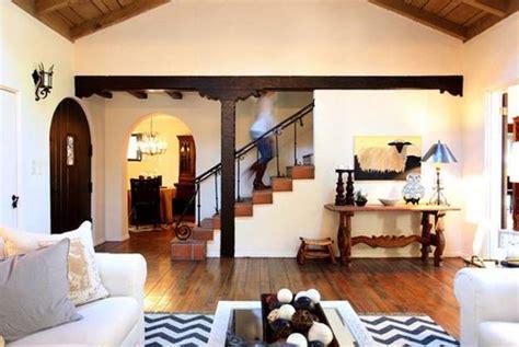 create modern house exterior  interior design  spanish style