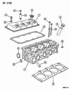 2002 Dodge Neon Head  Cylinder  Levemissions  Ulev