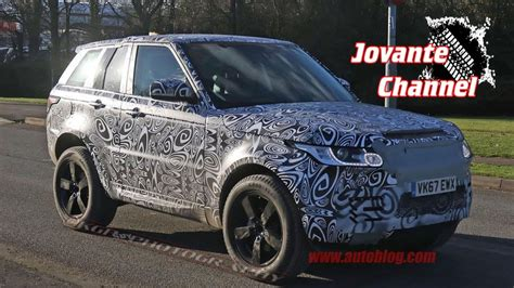 2019 Land Rover Defender Spy Shots Youtube