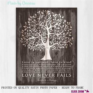personalized wedding gift for couple love is patient print 1 With wedding gifts for older couples