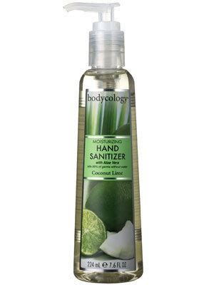 Bodycology Moisturizing Hand Sanitizer in Coconut Lime