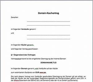 Kaufvertrag Haus Privat : domain kaufvertrag mustervorlage gfrerer com ~ Lizthompson.info Haus und Dekorationen