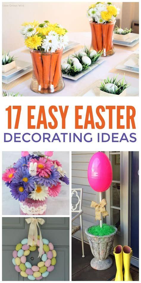 Ostern Dekorieren Ideen by 17 Easiest Easter Decorating Ideas One House