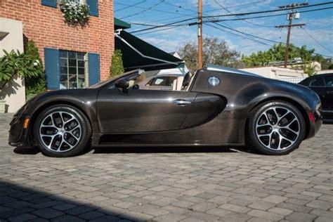 Bugatti Veyron Grand Sport For Sale by Bespoke Bugatti Veyron Vitesse Le Diamant Noir For Sale