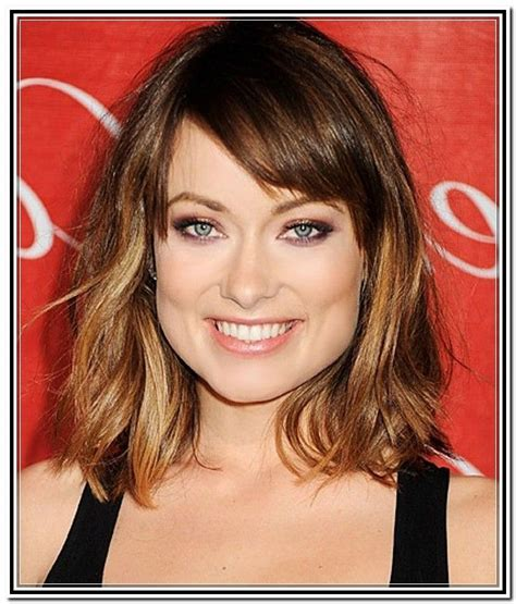 short hairstyles for thick hair and long face 2015
