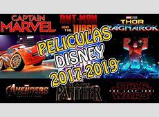 Películas DISNEY 20172019 Calendario Actualizado de