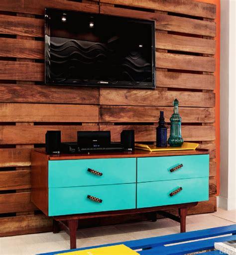 bureau de salon design idées originales de meubles en palettes