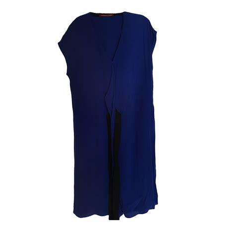 Robe Longue Comptoir Des Cotonniers by Robe Longue Comptoir Des Cotonniers 40 L T3 Bleu Vendu