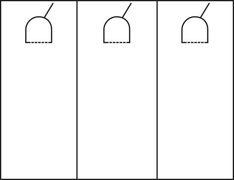 Door Hanger Template Door Hanger Template Cyberuse