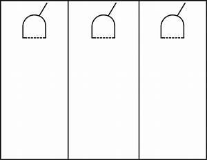 Door hanger template cyberuse for Free do not disturb door hanger template