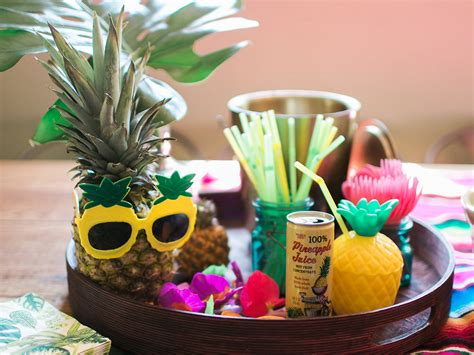 party   pineapple grit gold event design dallas