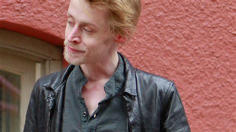 Schockfoto Macaulay Culkin Total Abgemagert