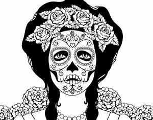 Crane Mexicain Dessin : coloriage de cr ne mexicain femme pour colorier ~ Melissatoandfro.com Idées de Décoration