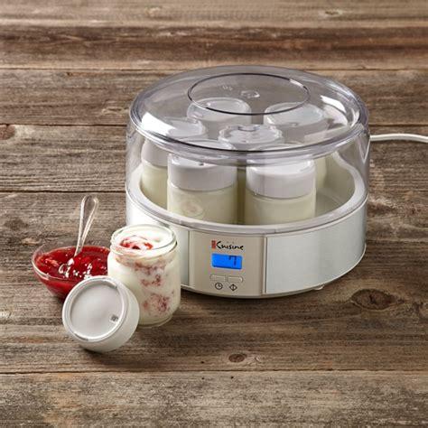 yogurt makers automatic yogurt maker williams sonoma