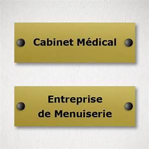 plaque de porte en aluminium brosse personnalisable With plaque de porte d entrée