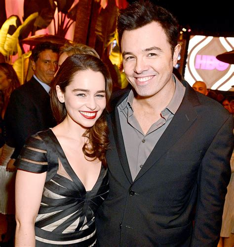 Check out dating history, relationships status and compare the info. Emilia Clarke Gets Candid About Seth MacFarlane Relationship